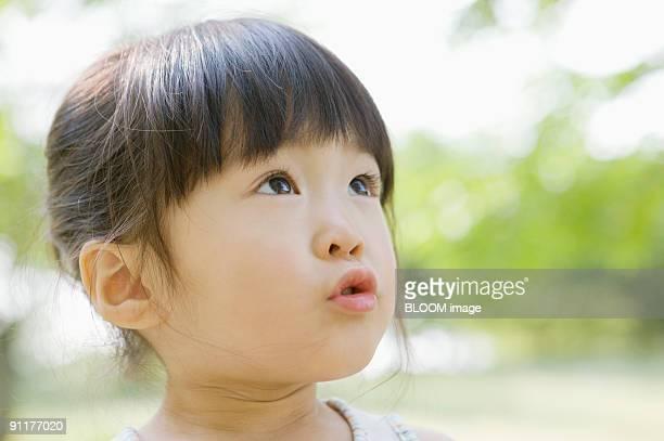 Girl, portrait, close-up