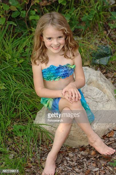 girl posing - kids swimsuit models stock pictures, royalty-free photos & images