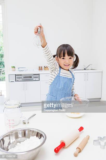 Girl Preparing Cookies