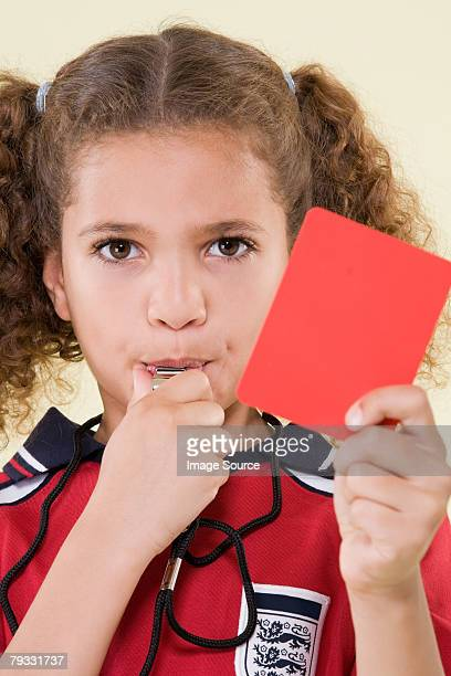 girl referee - referee stock pictures, royalty-free photos & images