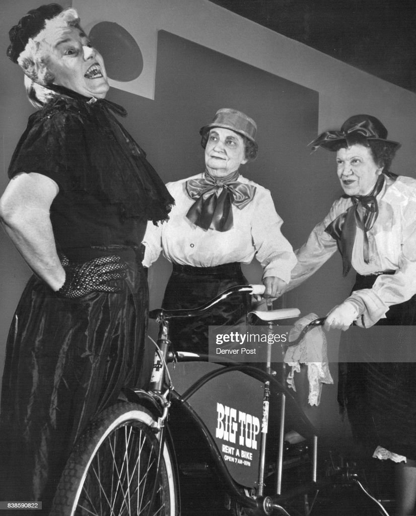 Girl Reporters On Bicycles? Oh, Pshaw! Mrs. William