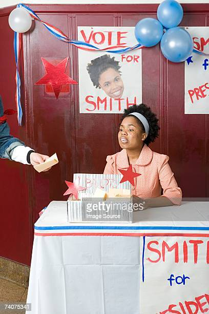 girl running for president - election stock pictures, royalty-free photos & images