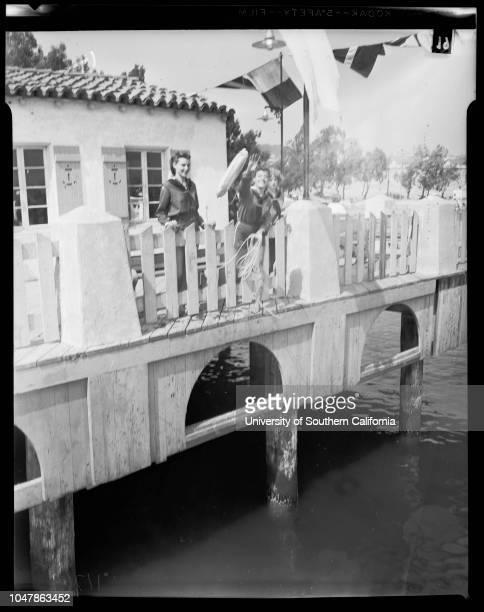 Girl Scouts Mariners at San Pedro 26 March 1956 Patsy WadeHelen SchafferLesley AndrewsLynda TaylorMarjorie HealyMaureen HealyLynne HigginsDiane...