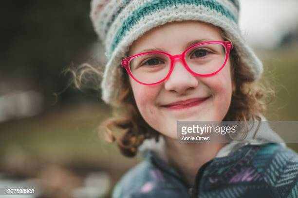 girl smiles at camera - sioux falls stock pictures, royalty-free photos & images