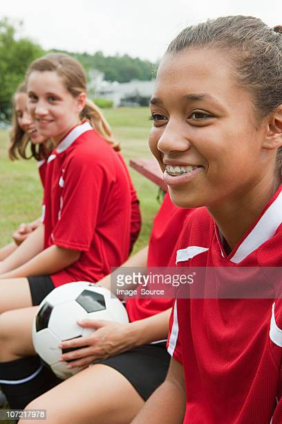 girl soccer players - chatham new york state stock pictures, royalty-free photos & images