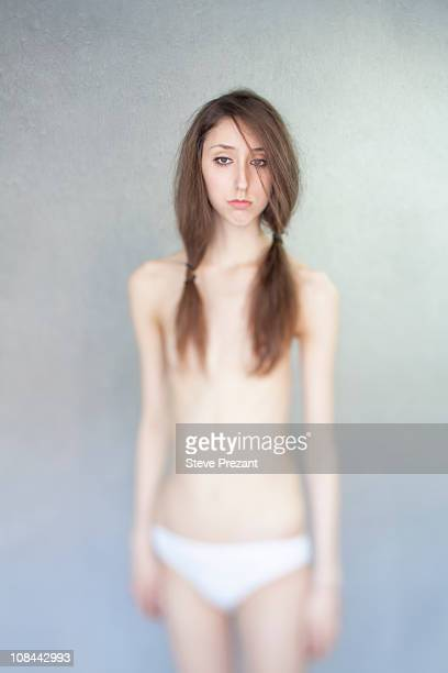 Girl standing nude