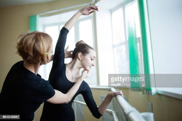 girl teenager in the dance hall - teen russia stock photos and pictures
