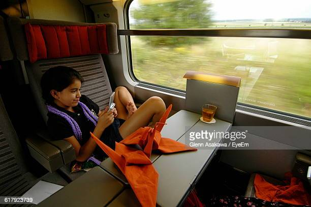 Origami Train Stock Photos And Pictures Getty Images