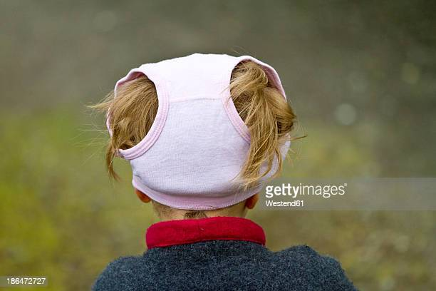 girl wearing underpants on her head - little girls undies stock pictures, royalty-free photos & images