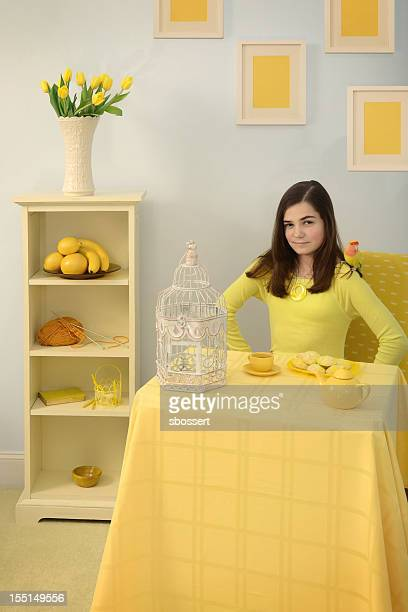 Girl Who Loves Yellow