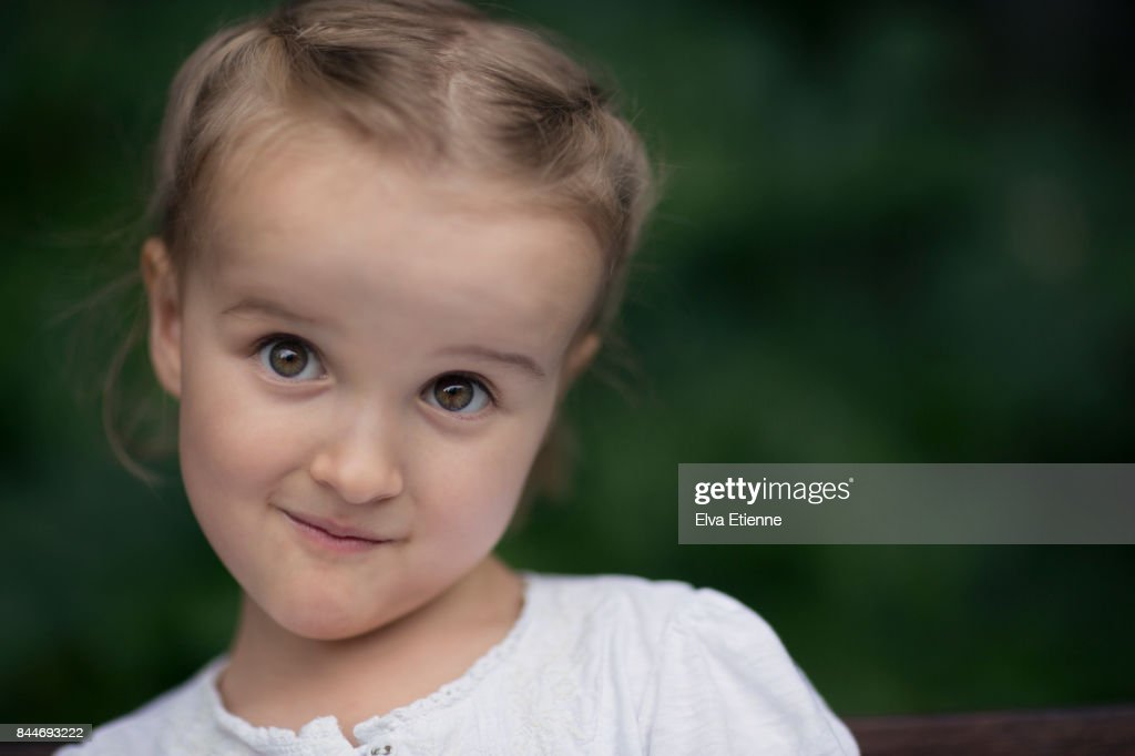 girl with a facal expression of disbelief stock photo | getty images