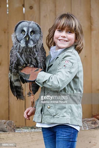 Girl with a owl