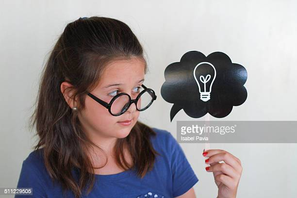 Girl with an idea