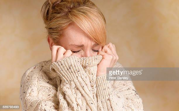 girl with bipolar - fear stock pictures, royalty-free photos & images