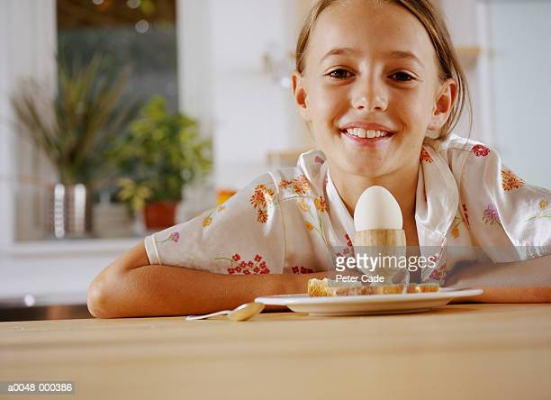 Girl with Boiled Egg