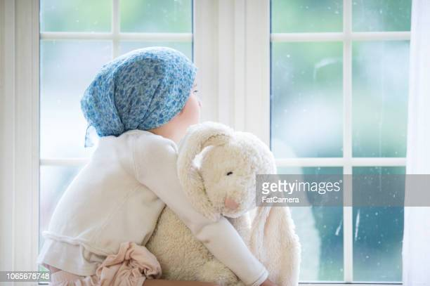 girl with cancer - childhood stock pictures, royalty-free photos & images