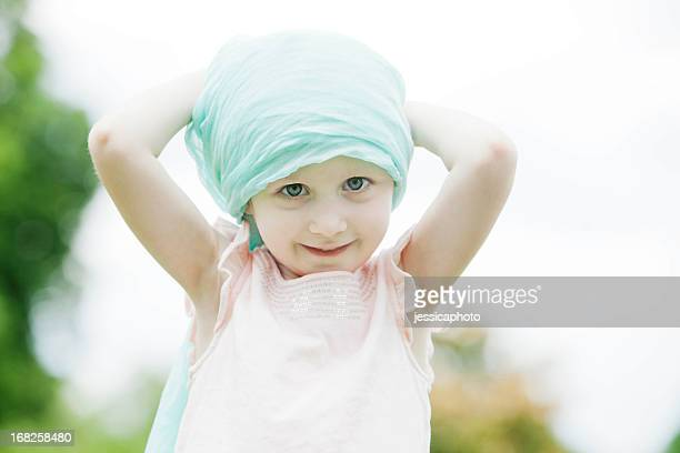 girl with cancer - bald girl stock photos and pictures