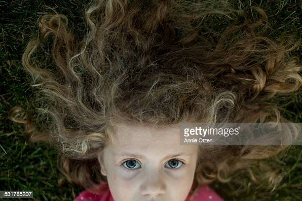 Girl with Crazy Hair