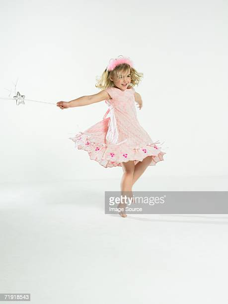 Girl with fairy wand