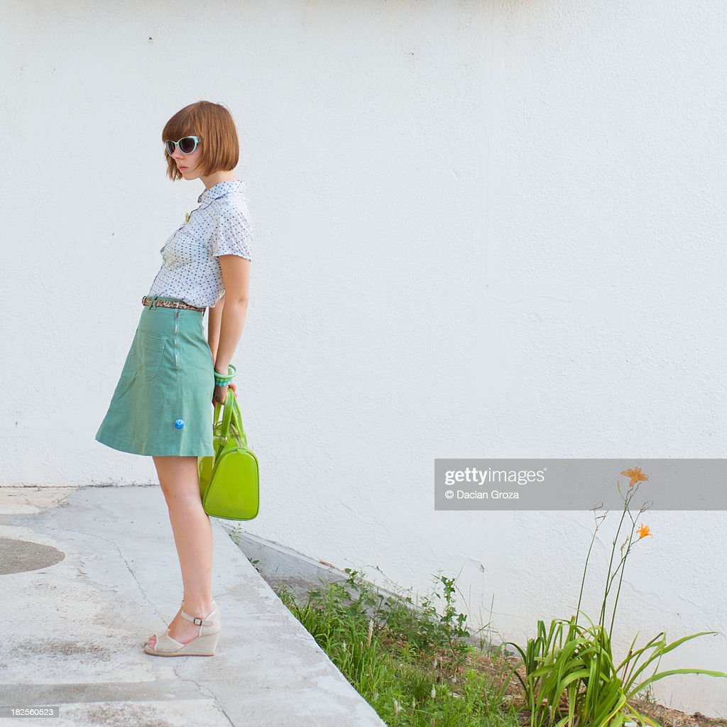 Girl with flower : Stock Photo