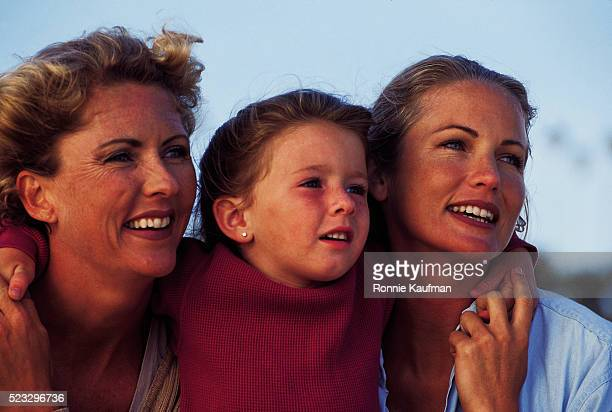 girl with her mothers - vintage lesbian photos stock pictures, royalty-free photos & images