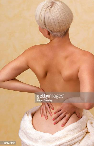 Girl with osteoporosis/lower back pain