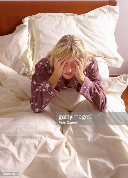 Girl with sleep apnea/insomnia