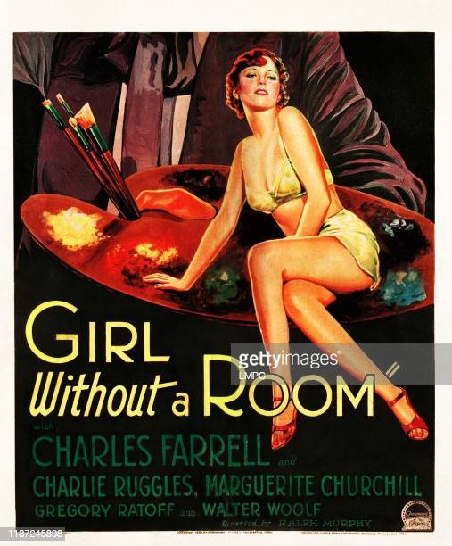 Girl Without A Room poster Marguerite Churchill on poster art 1933