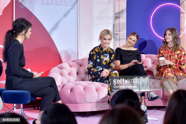 Girlboss Founder and CEO Sophia Amoruso Bumble Marketing Director Samantha Fulgham Outdoor Voices Founder and CEO Tyler Haney and Glossier Founder...