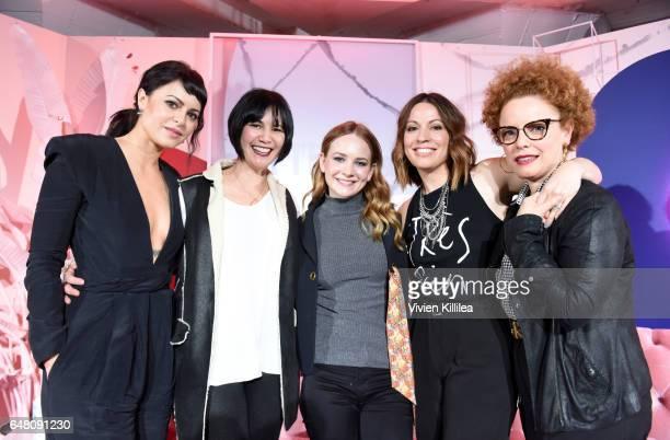 Girlboss Founder and CEO Sophia Amoruso Girlboss Executive Producer Laverne McKinnon Girlboss actress Britt Robertson Girlboss Creator Kay Cannon and...