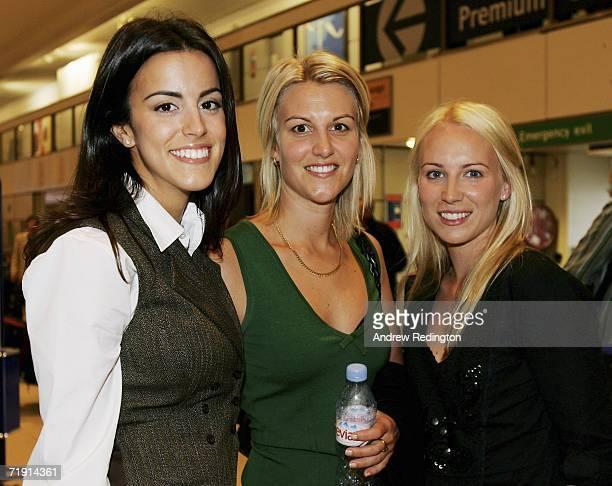 Girlfriend of Luke Donald of England Diane Antonopoulos girlfriend of Henrik Stenson of Sweden Emma Loferen and girlfriend of Paul Casey of England...