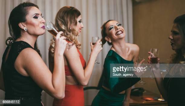 Girlfriends having together