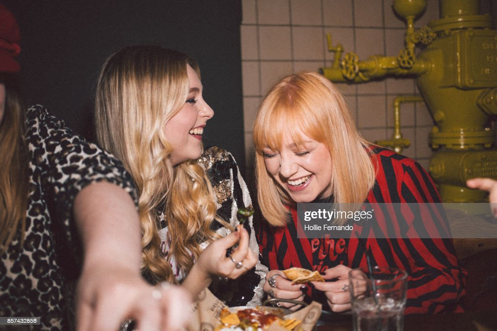 Girlfriends on a Night Out : Stock Photo