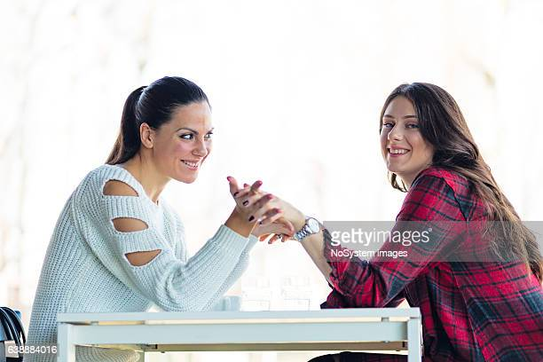girlfriends - lesbian dating stock pictures, royalty-free photos & images