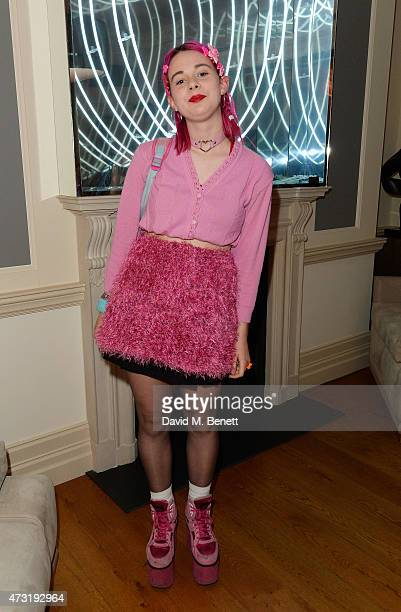 Girli arrives at the closing party of 'Les 3 Etages By Dom Perignon' with Sunday Times Style on May 13 2015 in London England