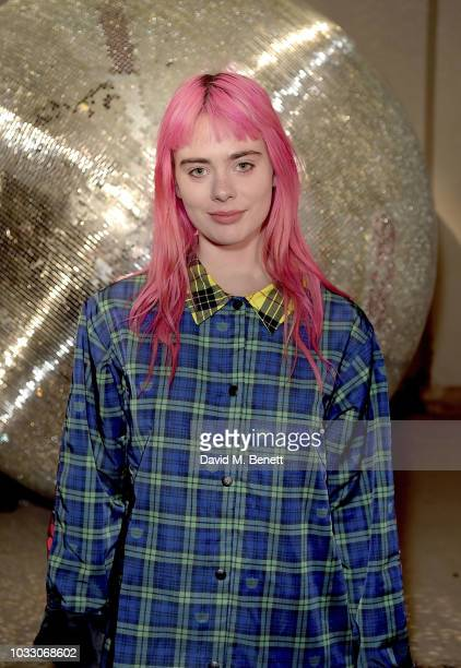 Girli attends the Nicopanda SS19 LFW Runway Show on September 14 2018 in London England