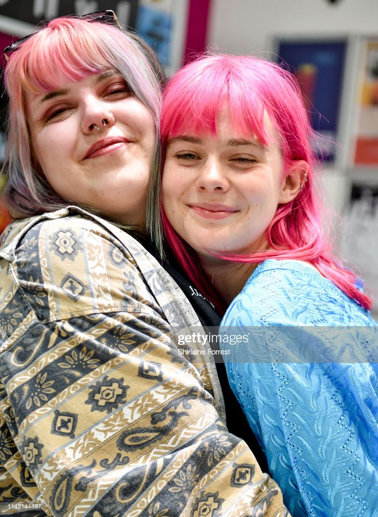 Girli Instore Event At HMV Manchester : News Photo