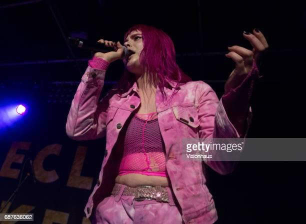 Girli or Milly Toomey performs as support to Declan McKenna at Gorilla on May 17 2017 in Manchester England