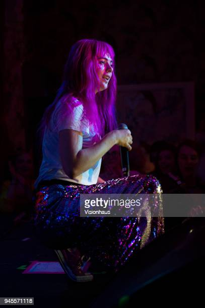 Girli otherwise known as Milly Toomey performs at the Deaf Institute on April 8 2018 in Manchester England