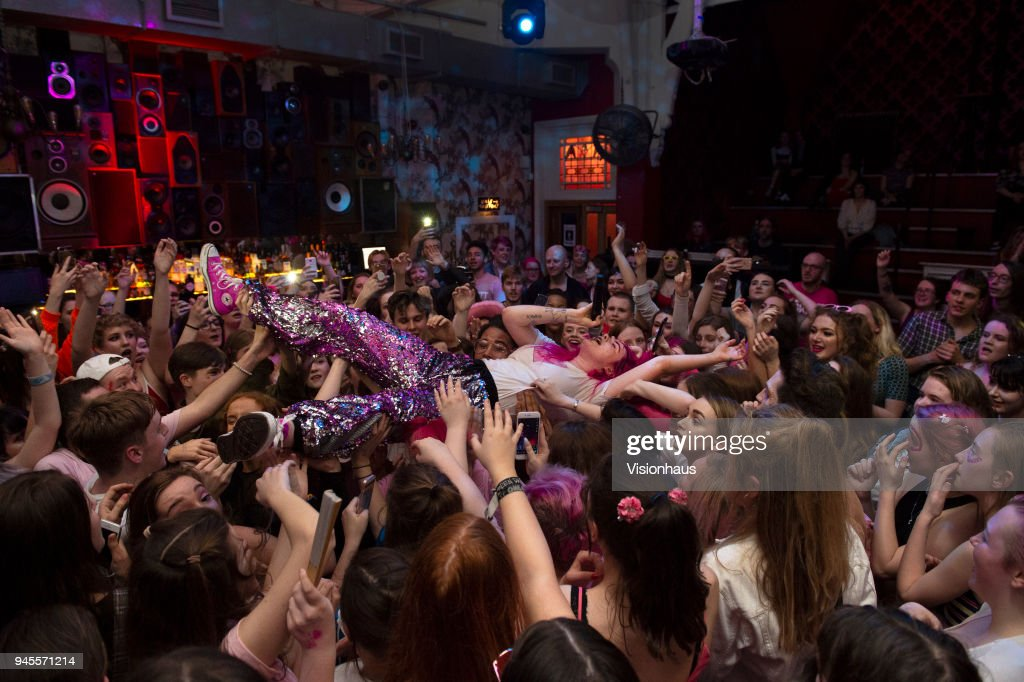 Girli Performs at the Deaf Institute, Manchester : News Photo