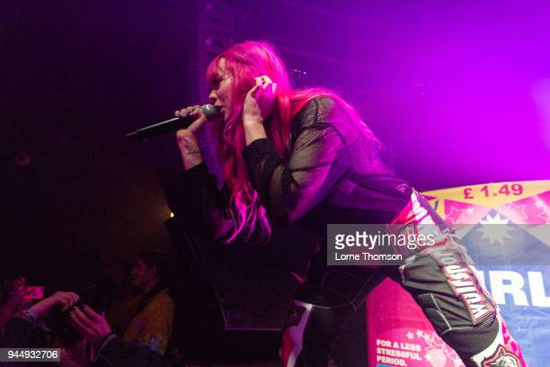 Girli performs at The Garage on April 11 2018 in London England