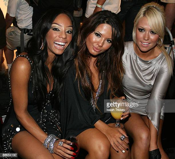 Girlicious attend the MuchMusic Video Awards on June 21 2009 in Toronto Canada