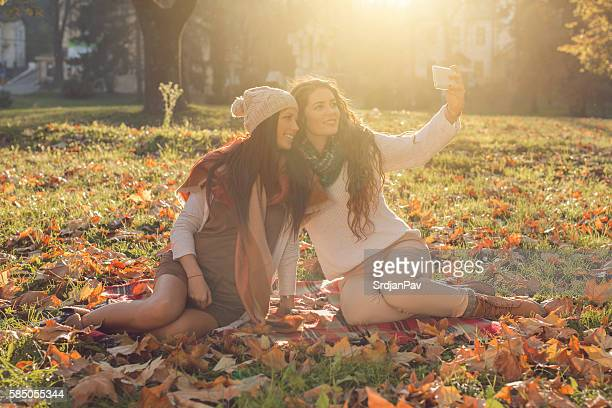 girlish selfie - girlish stock photos and pictures