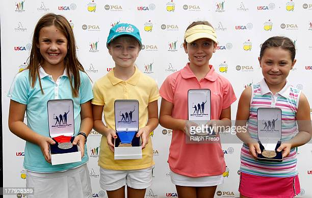 Girl's 1011 Division Chip competition winners Second place Susan Gietl First place Kendall Heyward Third place Vivienne Koepke and Madeline Smith...