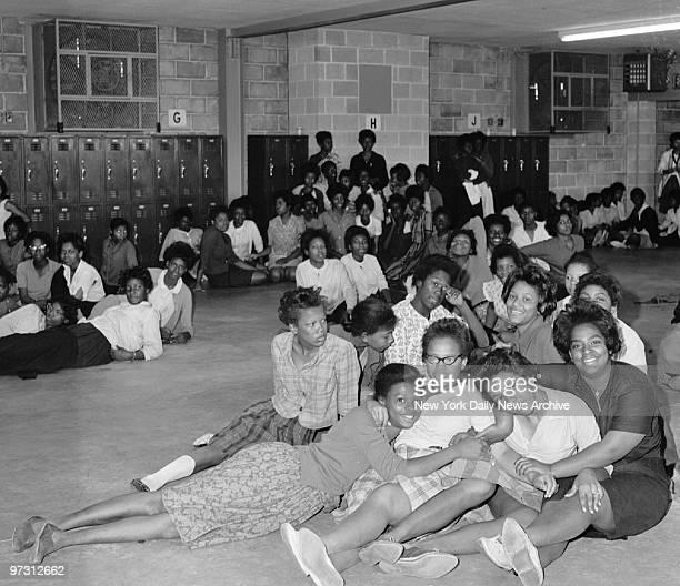 Girls aged 14 to 17 in detention center in Birmingham Alabama