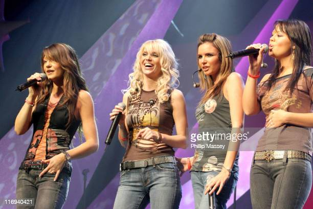 Girls Aloud during Childline Concert 2005 at The Point Theatre in Dublin Ireland