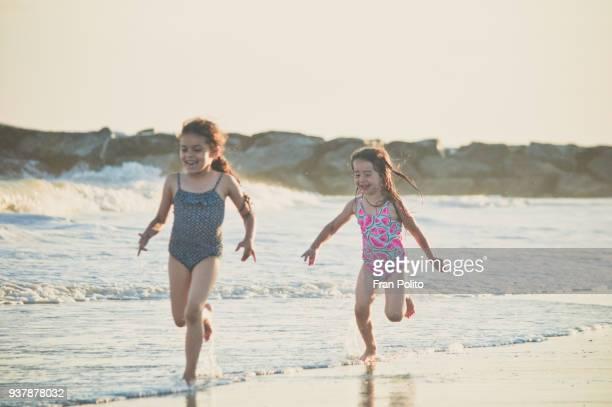 Girls at the beach.