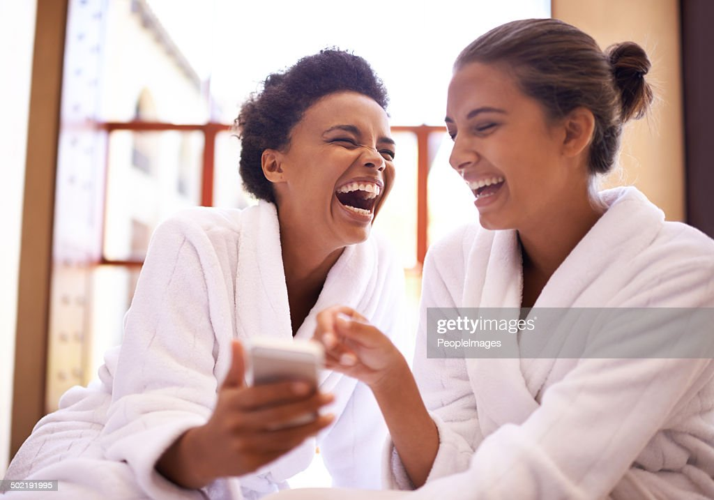 #Girls day at the spa! : Stock Photo