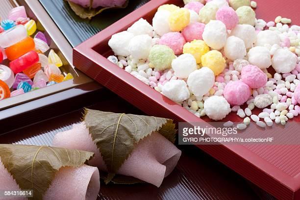 Girls' Festival sweets