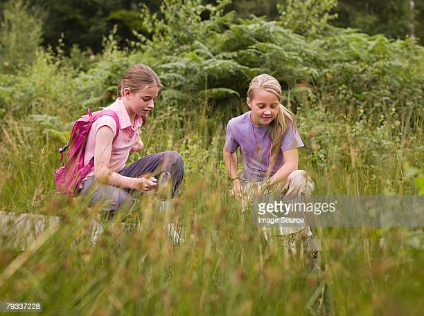 girls fishing - salt_marsh stock pictures, royalty-free photos & images